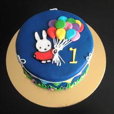 Miffy Cake (Nijnte) - Chocolate cake with vanilla buttercream.