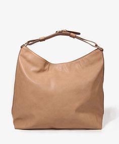 Buckle Strap Shoulder Bag | FOREVER21 - 1012093754 $27.80