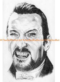 Denholm Elliott as Dracula ballpoint pen
