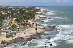 Farol de Itapuã, Praia de Itapuã, Salvador, Bahia