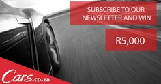 Subscribe to our newsletter and stand a chance to win R5000 #ad