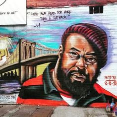 Sean Price, rapper from Brownsville, has been memorialized in a mural by graffiti icon and 5 Pointz CEO Meres One Sean Price, Love N Hip Hop, Hip Hop Fashion, Underworld, Brooklyn, Graffiti, Culture, Memories, Underground Hiphop