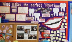 Teeth display
