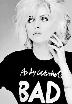 bitchtoss: Debbie Harry photographed by Brian Aris | 1979