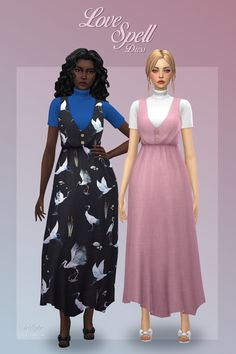 Sims 4 Cc Finds, Love Spells, Dresses, Vestidos, The Dress, Dress, Gowns, Clothes, Dress Outfits