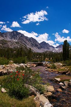 Little Lakes Valley Trail, Eastern Sierra range