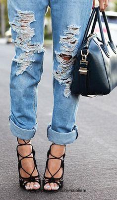 Street style - denim ♥ na