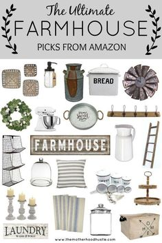 The current farm house design is not just for rooms. The farmhouse design totally reflects the entire style of the house and the family tradition also. It totally reflects the entire style… Country Farmhouse Decor, Farmhouse Style Decorating, Farmhouse Design, Cottage Farmhouse, Farmhouse Decor Amazon, Country Modern Decor, Farmhouse Living Room Decor, Seaside Cottage Decor, Industrial Farmhouse Decor