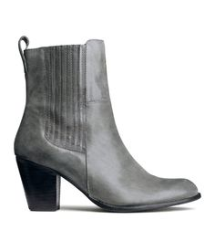 Leather boots | Product Detail | H&M