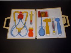 1977 Fisher Price Medical Kit-