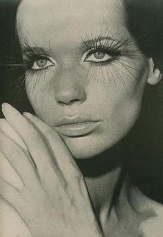 Veruska at 60's with big lashes