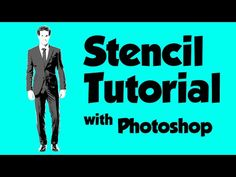Graffiti Stencil Tutorial with Photoshop - YouTube