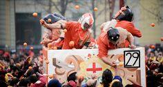 La batalla de las naranjas