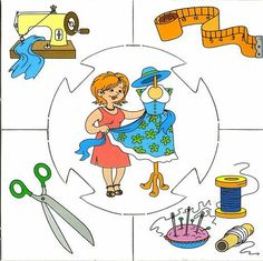 This page has a lot of free easy Community helper puzzle for kids,parents and preschool teachers. Community Workers, School Community, Community Helpers, Preschool Education, Kids Learning Activities, Preschool Worksheets, Puzzle Crafts, Kindergarten, Educational Crafts