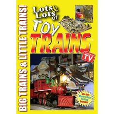 Lots and Lots of Toy Trains DVD Vol. 1 - Big and Little Model Railroads --- http://www.amazon.com/Lots-Toy-Trains-DVD-Vol/dp/B001M0KFQG/?tag=mydietpost-20