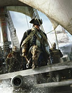 Assassins Creed III Cover Art | © 2012 Ubisoft Entertainment. All Rights Reserved.