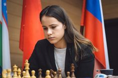 Jesse Nikki February This game is from round 1 of the 2018 FIDE Women's World Chess Championship. It is between Kateryna Lagno with Wh. Chess Players, February, Posts, Female, World, Blog, Chess, Messages, Blogging