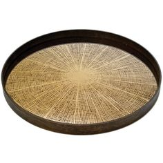 Notre+Monde+Bronze+Slice+Mirror+Tray+Round+Large+-+Handcrafted+large+circular+wooden+tray+with+mirrored+tray+artisan+finish.  Channel+the+beauty+of+nature+into+your+serveware+collection+with+the+distinctive+beauty+of+the+Notre+Monde+Bronze+Slice+Mirror+Tray+Round+Large.  The+perfect+accent+for+serving+cocktails+at+your+next+stylish+soiree,+this+unique+hand+crafted+tray+is+circular+in+shape+with+an+aged+bronze+appearance…