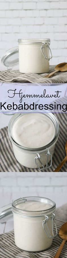 Den Bedste Kebabdressing - Famous Last Words Greek Recipes, Dip Recipes, Light Recipes, Cake Recipes, Dips, Kebab, Good Food, Yummy Food, I Want To Eat