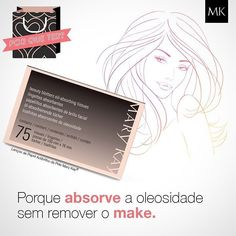 Por que ter? Porque os Lenços de Papel Antibrilho da Pele absorvem imediatamente a oleosidade e ajudam a manter a maquiagem impecável e ainda dão sensação de maciez e aspecto radiante. #dicasMK #beauty #makeup #makeuplovers #amomarykay #marykay #marykaybrasil