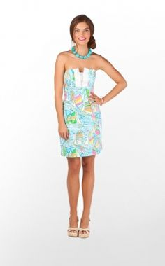 Lilly Pulitzer Franco Dress in You Gotta Regatta $178.00