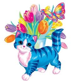 Lisa Frank  LOVE the stripes.. perfect for King.. but in purple and blues too
