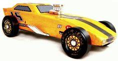 Top Fuel Pinewood Derby Car