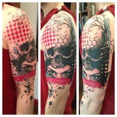 Tattoo by Jacob Pedersen //