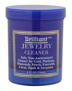 Brilliant® 8 Oz Jewelry Cleaner with Cleaning Basket and Brush | Your #1 Source for Jewelry and Accessories