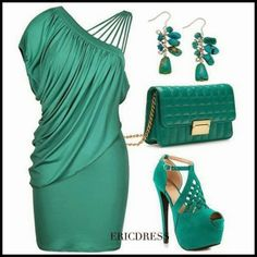 Lucy May's Fashion Blog: GREEN MINT ELEGANT AND SEXY SET !!! WOULD YOU WEAR...