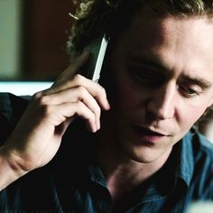 Tom Hiddleston as Magnus Martinsson, Wallander. Good show, but not enough face time for this beautiful and highly talented actor