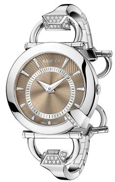 Gucci Women's Chiodo Diamond Watch ♥✤ | Keep the Glamour | BeStayBeautiful
