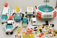 Playmobil PLAYMOSPACE Konvolut - cyan74.com - vintage & pop culture