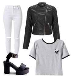 """For..."" by ewciatomaszek on Polyvore featuring Lipsy and Chicnova Fashion"