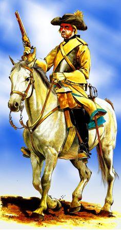 Swedish cavalryman circa 1676