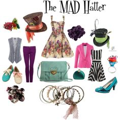 The MAD Hatter. My style for unique days hahaha