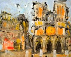 Notre-Dame de Paris Oil on canvas 13 by 16 inches http://stores.ebay.com/GALLERY-ANT