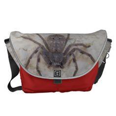 Huntsman_Spider_Unisex_Large_Messenger_Bag. Commuter Bag