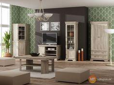 Zútulnite si domov rustikálnou obývacou stenou Gladys 1