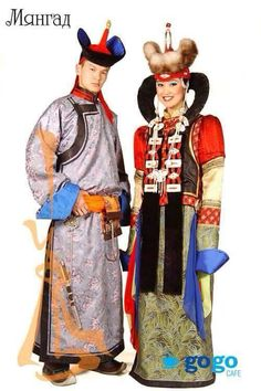 #mongolian #traditional #clothing #deel #myangat