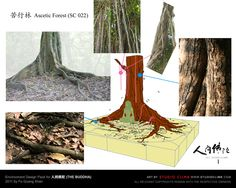 Environment Design Pack for 人间佛陀 (the Buddha) --- Ascetic forest
