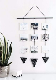 How cool is this photo wall hanging? 2019 How cool is this photo wall hanging? < The post How cool is this photo wall hanging? 2019 appeared first on House ideas. Photo Wall Hanging, Hanging Photos, Diy Hanging, Wall Photos, Hanging Polaroids, Photo Wall Art, Ways To Hang Polaroids, Wall Hanging Decor, Wall Pictures