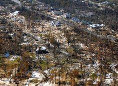 Hurricane Katrina destruction on 2 Sep 2005. Photo: Program for the Study of…