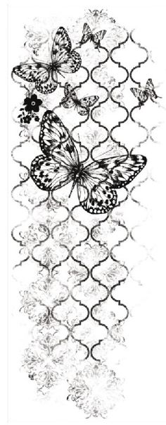 Kaisercraft Texture Clear Acrylic Stamp Flutter at 299 Diy Image, Butterfly Background, Foto Transfer, Cheap Stamps, Decoupage Paper, Shabby, Digi Stamps, Diy Scrapbook, Colouring Pages