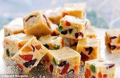 Tutti Frutti Truffles for christmas