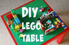 DIY Lego Table - Tra