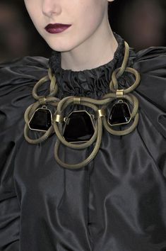 Through Elia's Eyes ~ Statement #Necklace ~ Loved by http://danykacollection.com