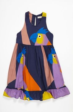 Stella McCartney Kids 'Pip' Dress (Toddler, Little Girls & Big Girls) Baby Girl Fashion, Toddler Fashion, Kids Fashion, Toddler Dress, Toddler Outfits, Kids Outfits, Stella Mccartney Kids, Little Girl Dresses, Girls Dresses