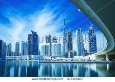 View on Dubai city center,United Arab Emirates