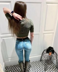 Curvy Outfits, Fashion Outfits, Superenge Jeans, Skinny Girls, Best Jeans, Up Girl, Hot Pants, Girls Jeans, Woman Clothing